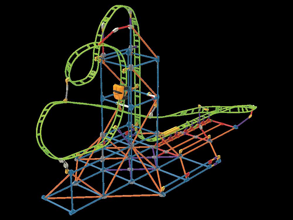 K'NEX Infinite Journey Roller Coaster Set 15407