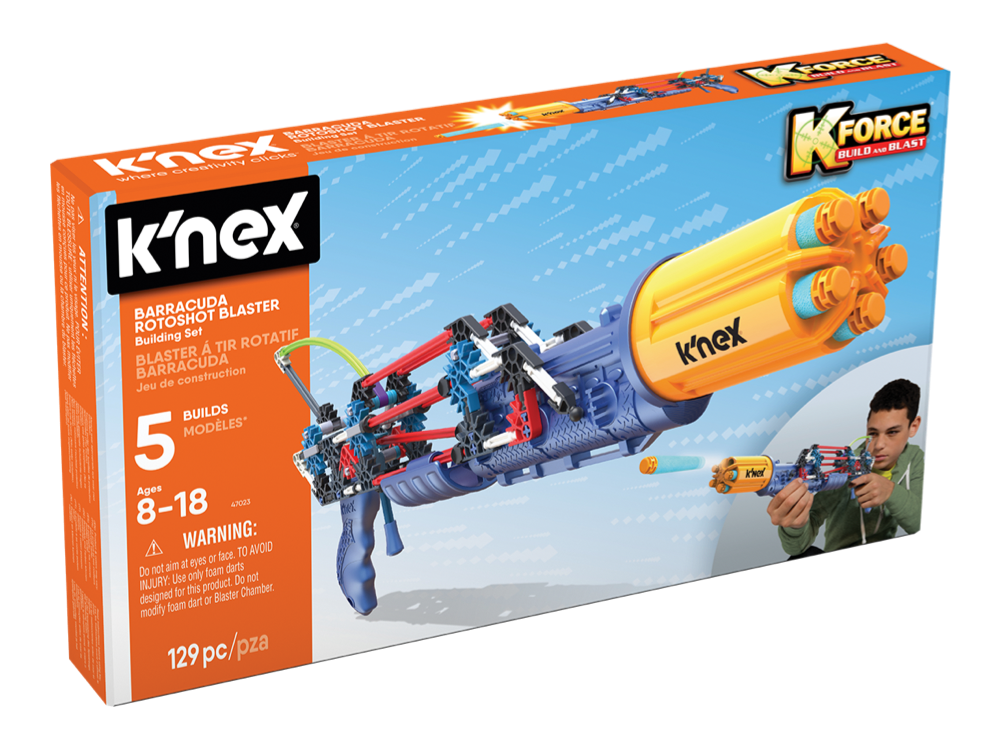 K'NEX K-Force Baracuda Rotoshot Blaster Set 47023