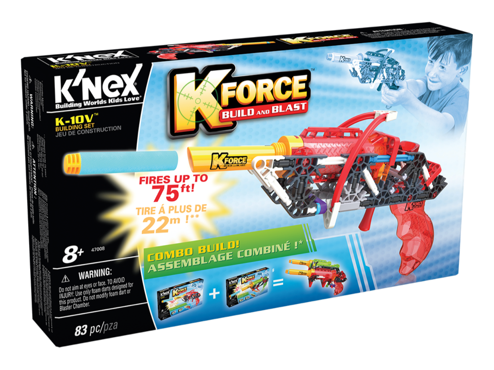 K'NEX K-Force K-10V Set 47008