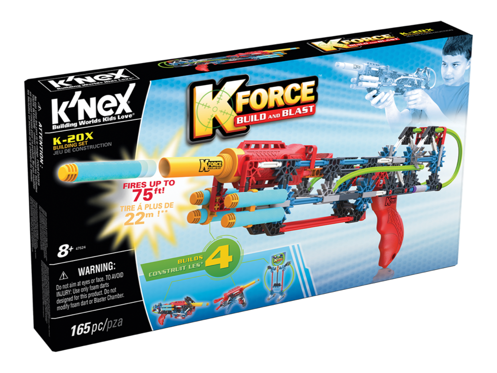 K'NEX K-Force K-20X Set 47524