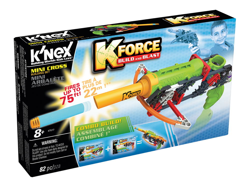 K'NEX K-Force Mini Cross Set 47517