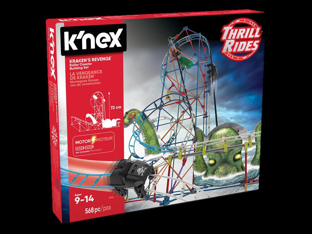 K'NEX Krakens Revenge Roller Coaster (Motorlu) 17616