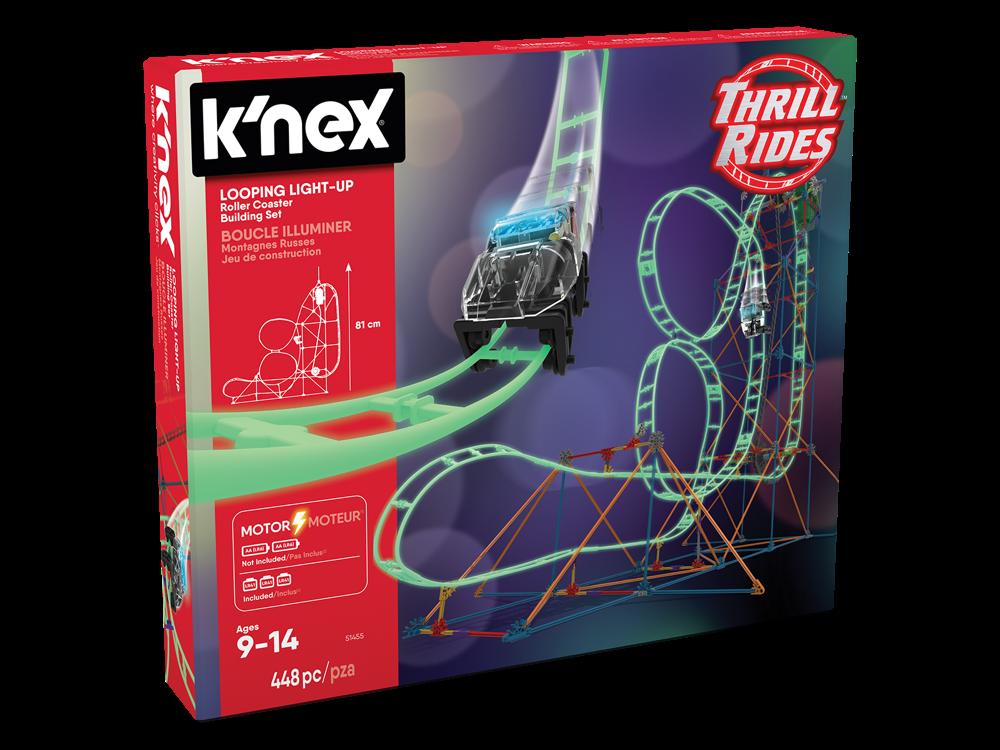 K'NEX Looping Light-Up Roller Coaster (Motorlu) 51455