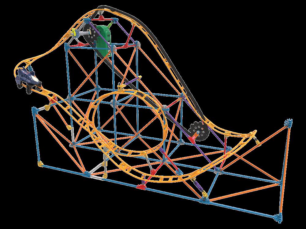 K'NEX Mecha Strike Roller Coaster (Motorlu) 18515