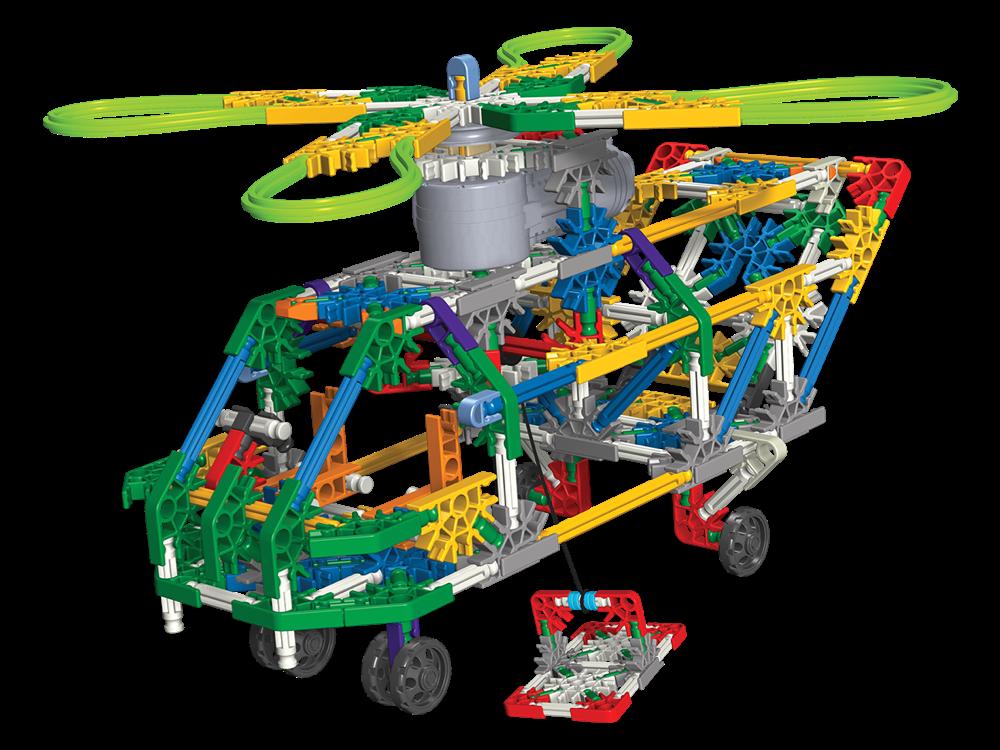 K'NEX Taşıyıcı Helikopter Set (Motorlu) 11413