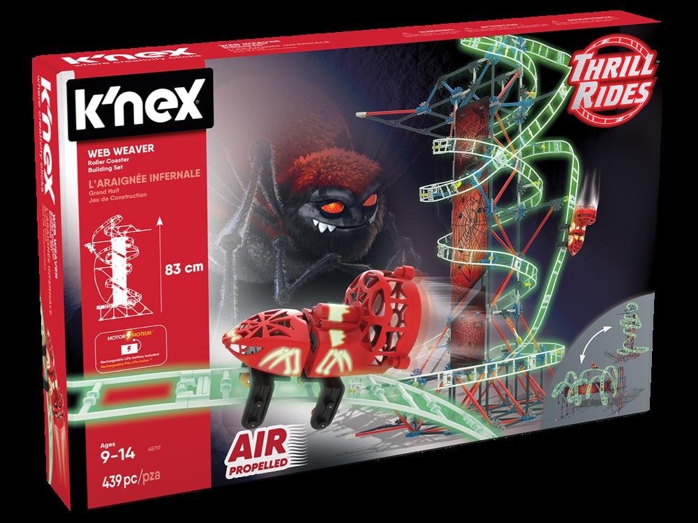 K'NEX Web Weaver Roller Coaster Set (Motorlu) 45717