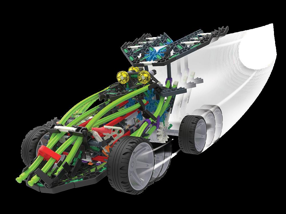 K'NEX Yarış Araçları 2 Model Set (Motorlu) 16005