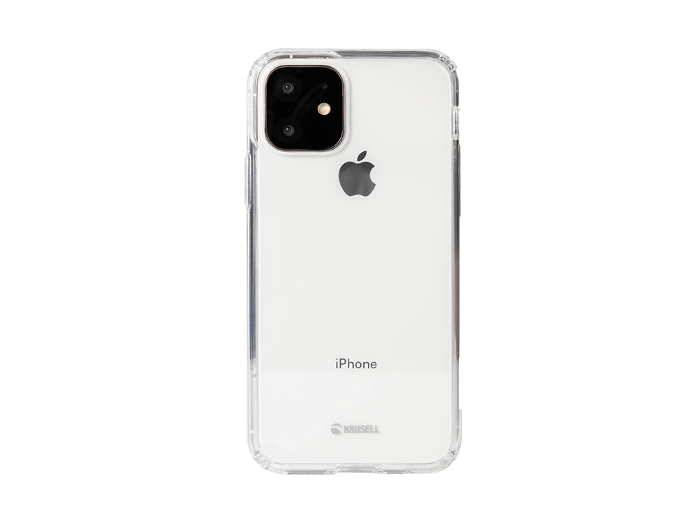 Krusell Kivik iPhone 11 Şeffaf Kılıf