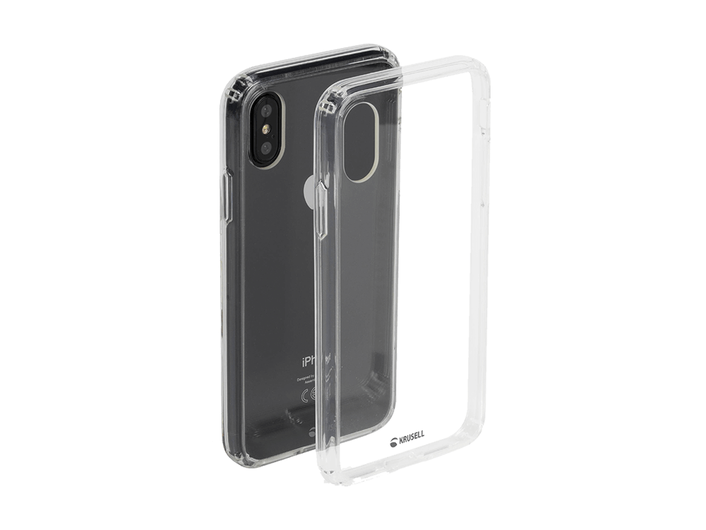Krusell Kivik iPhone XS Max Şeffaf Kılıf