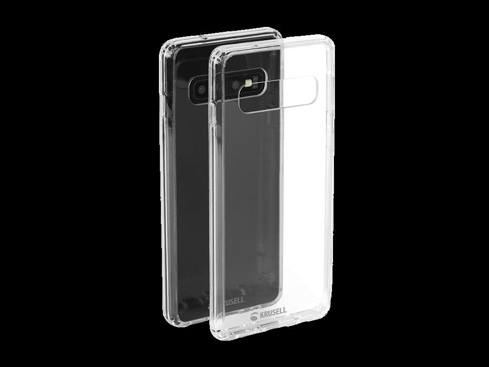 Krusell Kivik Samsung Galaxy S10 Şeffaf Kılıf