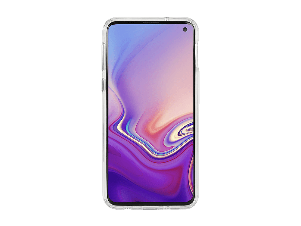 Krusell Kivik Samsung Galaxy S10E Şeffaf Kılıf