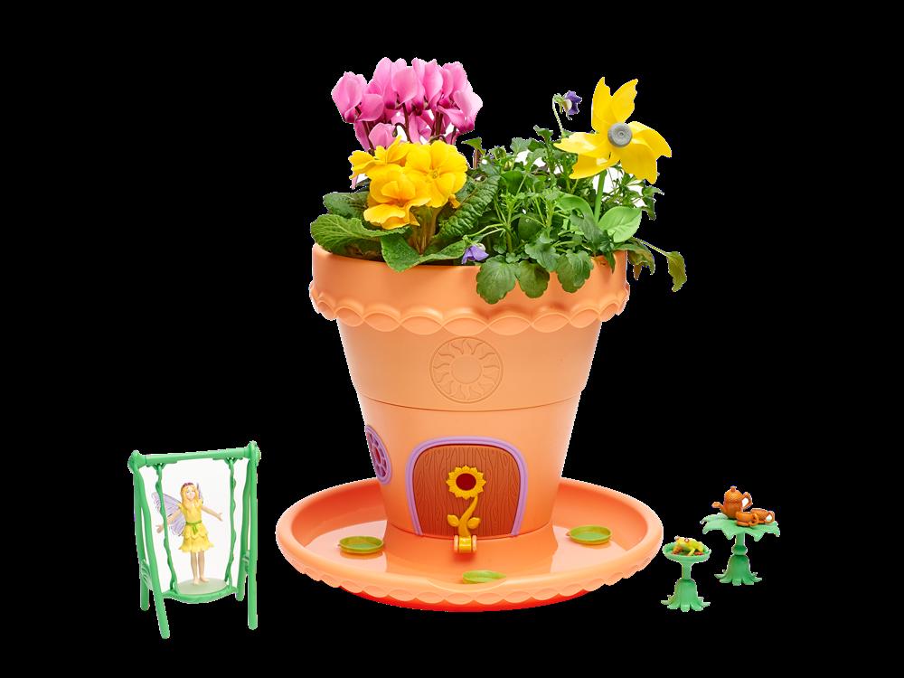 My Fairy Garden Lilypad Peri Saksı Seti 003