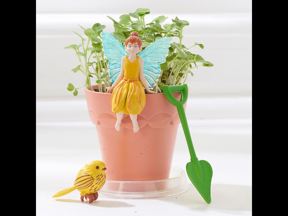 My Fairy Garden Peri Çiçek Saksısı ve Mini Peri Saksı Seti 101-202
