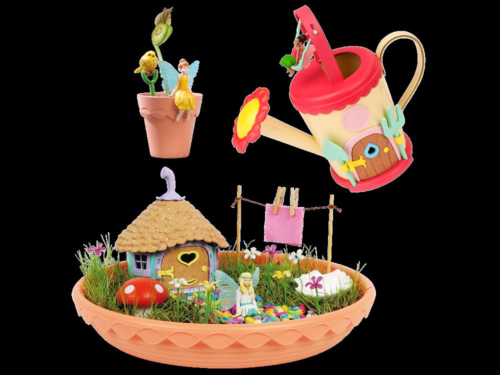 My Fairy Garden Sulama Kabı- Peri Bahçesi ve Mini Peri Saksı Seti 201-001-202