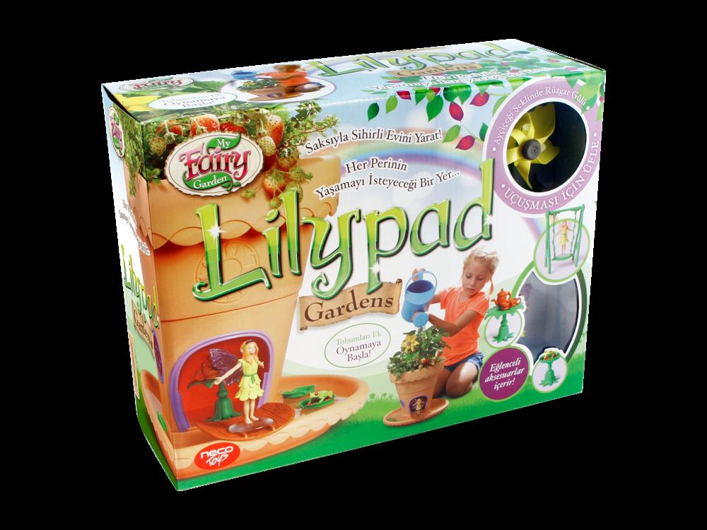 My Fairy Garden Sulama Kabı ve Lilypad Peri Saksı Seti 201-003