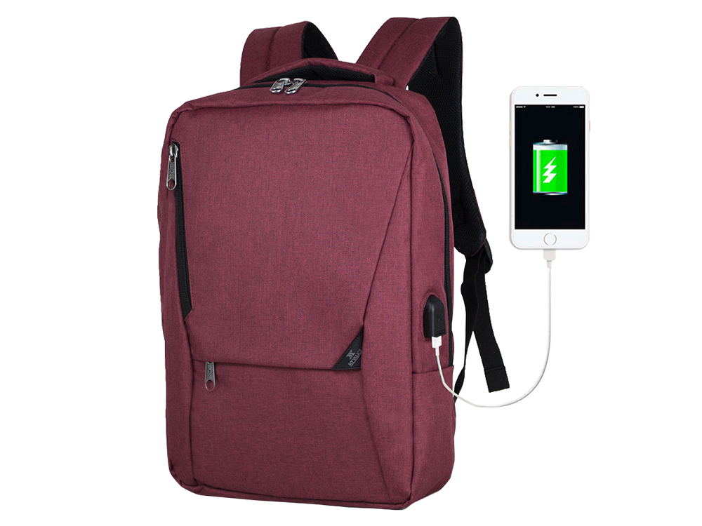 My Valice Smart Bag Active USB Şarj Girişli Slim Notebook Sırt Çantası