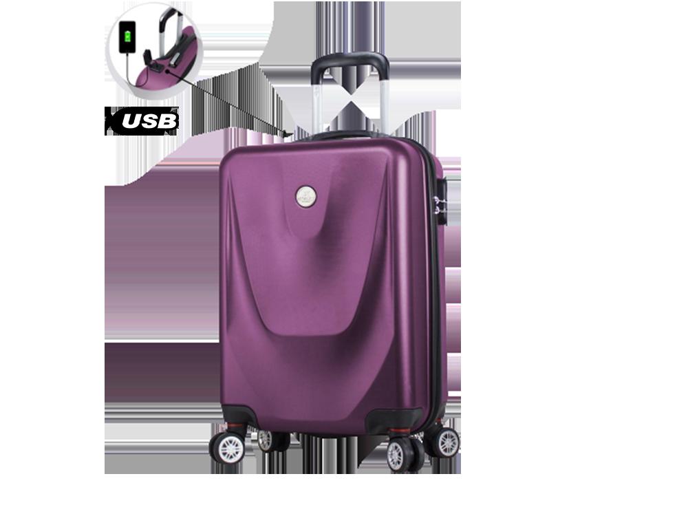My Valice Smart Bag Energy USB Şarj Girişli Küçük Kabin Boy Abs Valiz