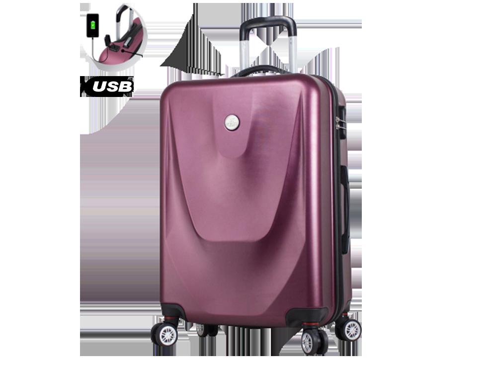 My Valice Smart Bag Energy USB Şarj Girişli Orta Boy Abs Valiz