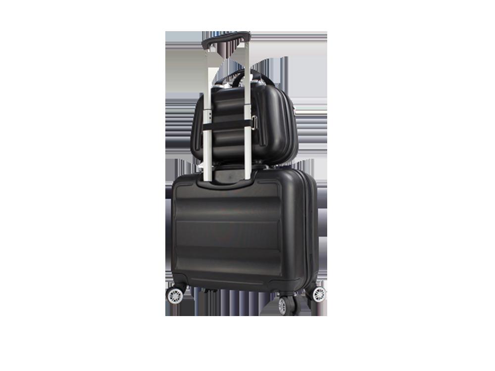My Valice Smart Bag Exclusive USB Şarj Girişli 2'li Valiz Seti (Pilot ve Makyaj)