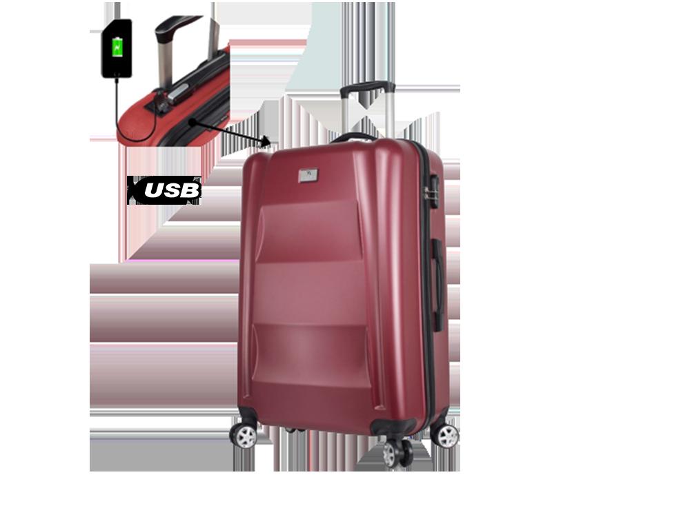 My Valice Smart Bag Exclusive Usb Şarj Girişli Büyük Boy Valiz