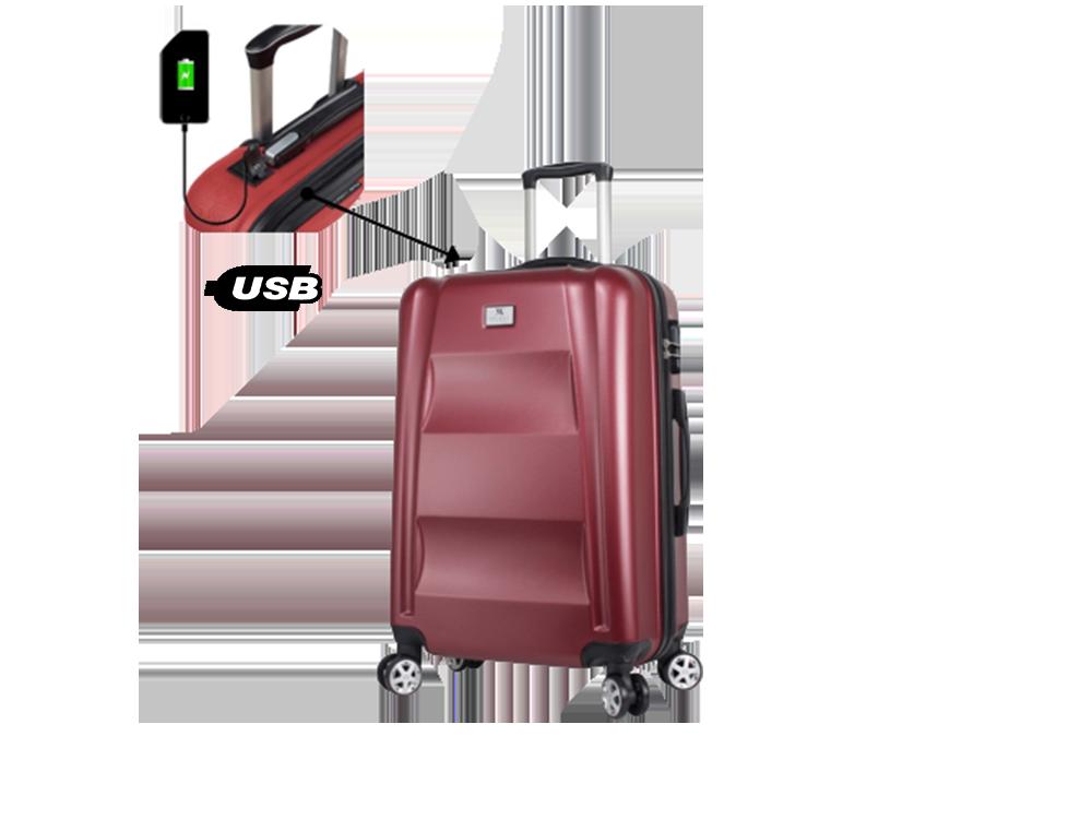 My Valice Smart Bag Exclusive USB Şarj Girişli Orta Boy Valiz