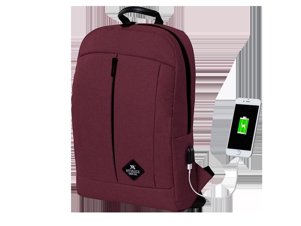 My Valice Smart Bag Galaxy USB Şarj Girişli Notebook Sırt Çantası