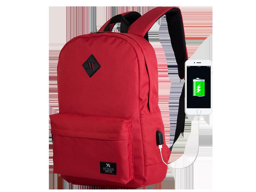 My Valice Smart Bag Specta USB Şarj Girişli Akıllı Sırt Çantası