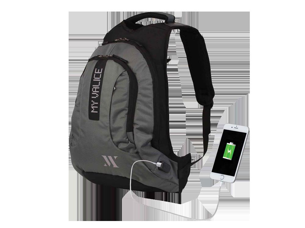My Valice Smart Bag USB Şarj Girişli Akıllı Sırt Çantası 1202