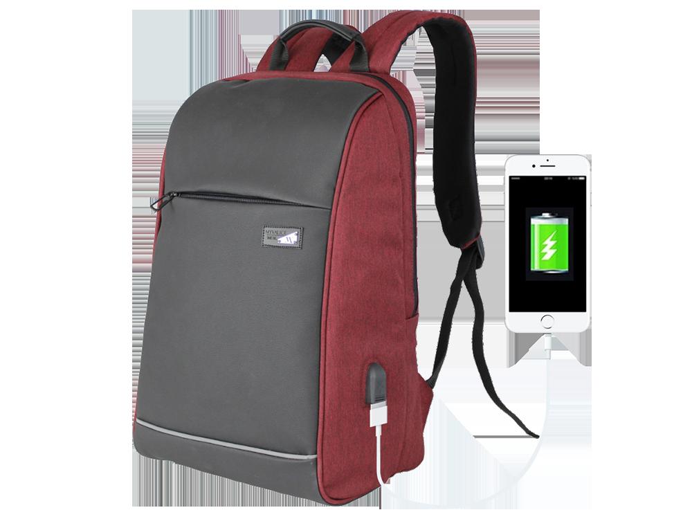 My Valice Smart Bag USB Şarj Girişli Akıllı Sırt Çantası 1203