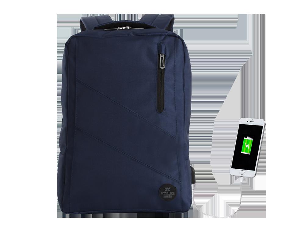 My Valice Smart Bag USB Şarj Girişli Akıllı Sırt Çantası 1209