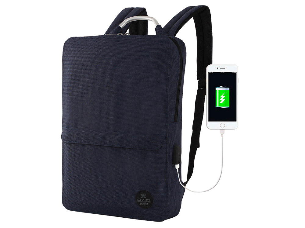 My Valice Smart Bag USB Şarj Girişli Akıllı Sırt Çantası 1210