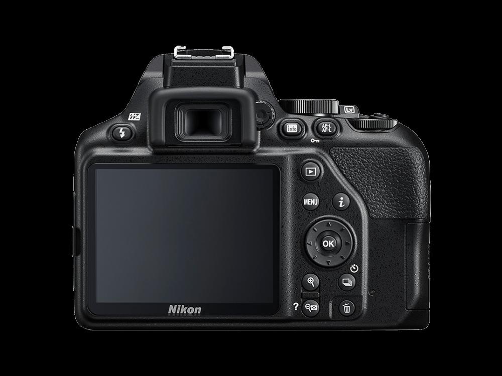Nikon D3500 + AF-P DX 18-55 f/3.5-5.G VR Kit Dijital Fotoğraf Makinesi