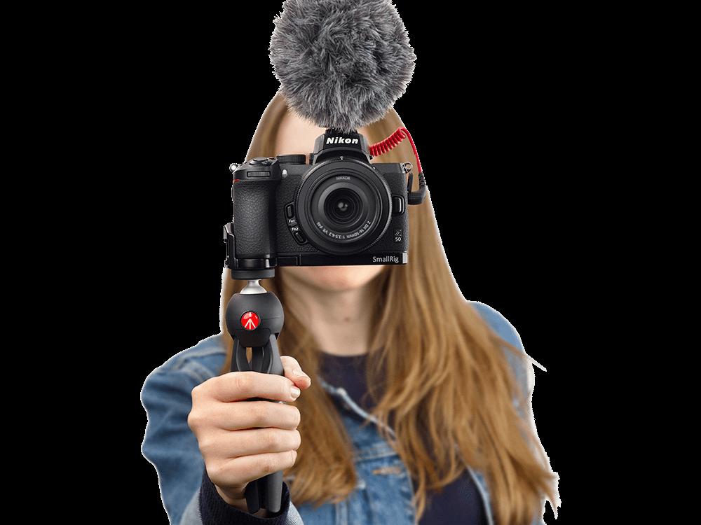 Nikon Z50 Aynasız Fotoğraf Makinesi ve Vlogger Kit