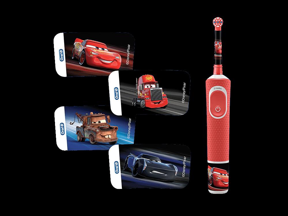 Oral-B D100 Cars Özel Seri Çocuklar İçin Şarj Edilebilir Diş Fırçası