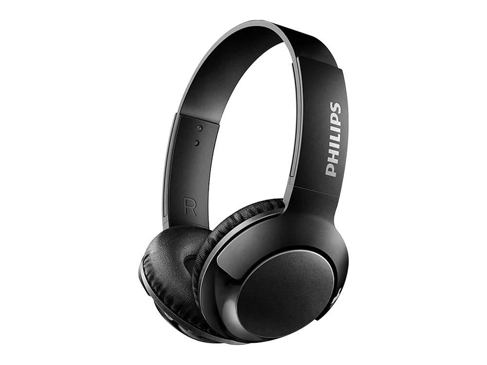 Philips BASS+ Kablosuz Mikrofonlu Kulak Üstü Kulaklık SHB3075BK/00