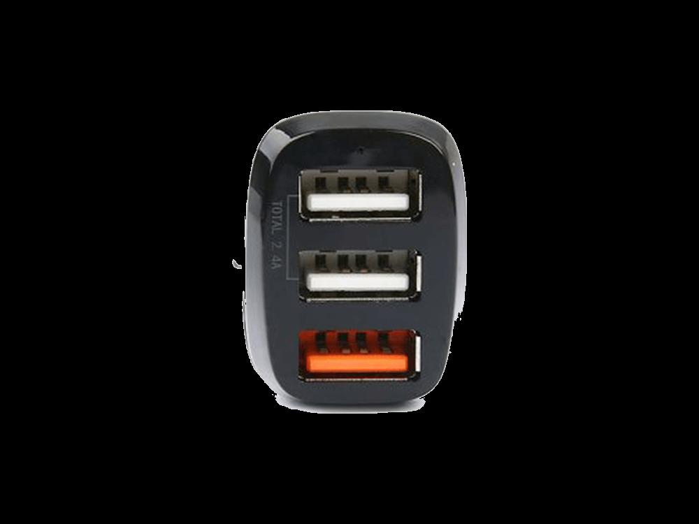 Philips DLP3531NB/51 QC 30 W Üç Çıkışlı USB Araç Şarj Cihazı