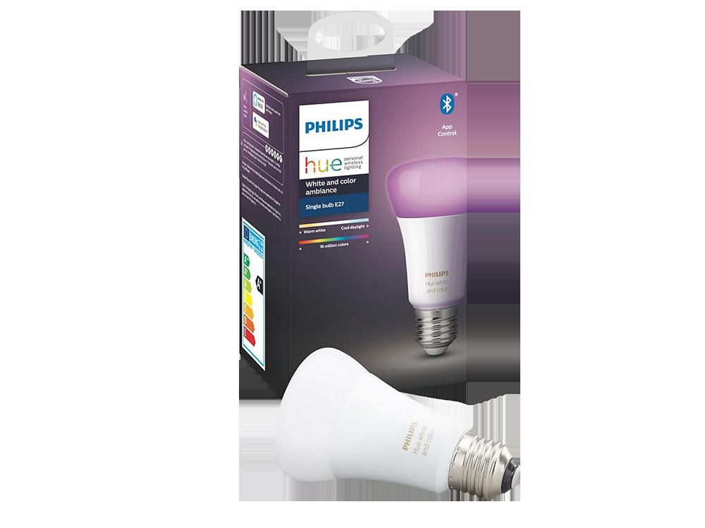 Philips Hue Renkli Akıllı Ampul E27 Bluetooth Özellikli