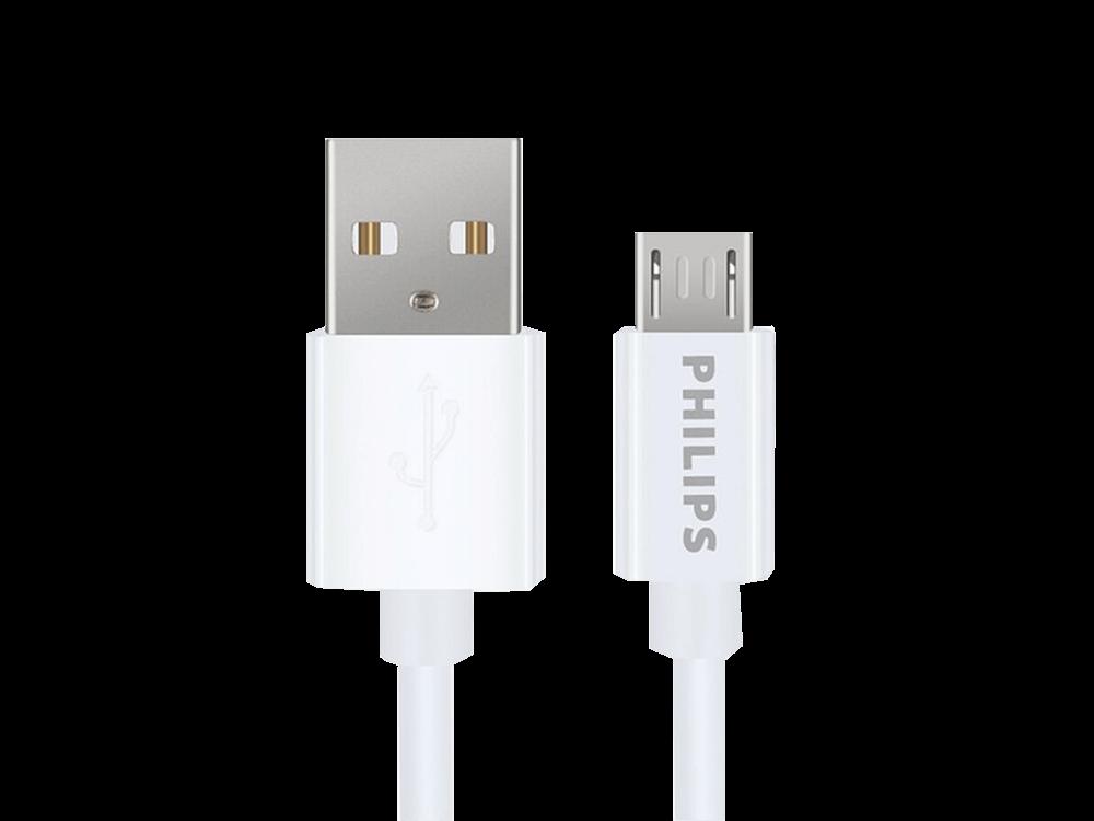 Philips SWR2101/93 Micro USB Şarj ve Senkronizasyon Kablosu 1 m