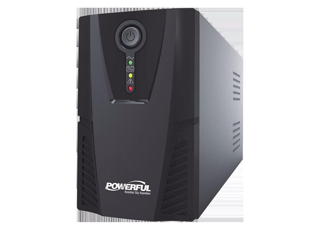 PowerFul PL-600 650 VA Line Interactive Kesintisiz Güç Kaynağı