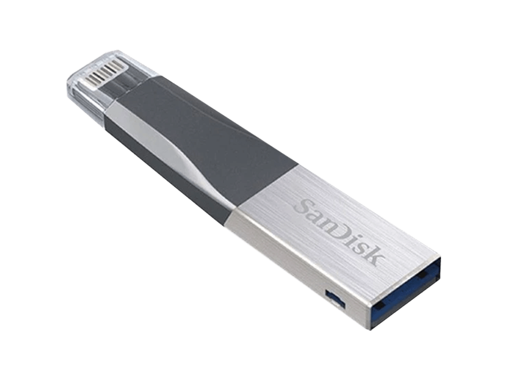 SanDisk iXpand Mini 128 GB iPhone USB Bellek SDIX40N-064G-GN6NN