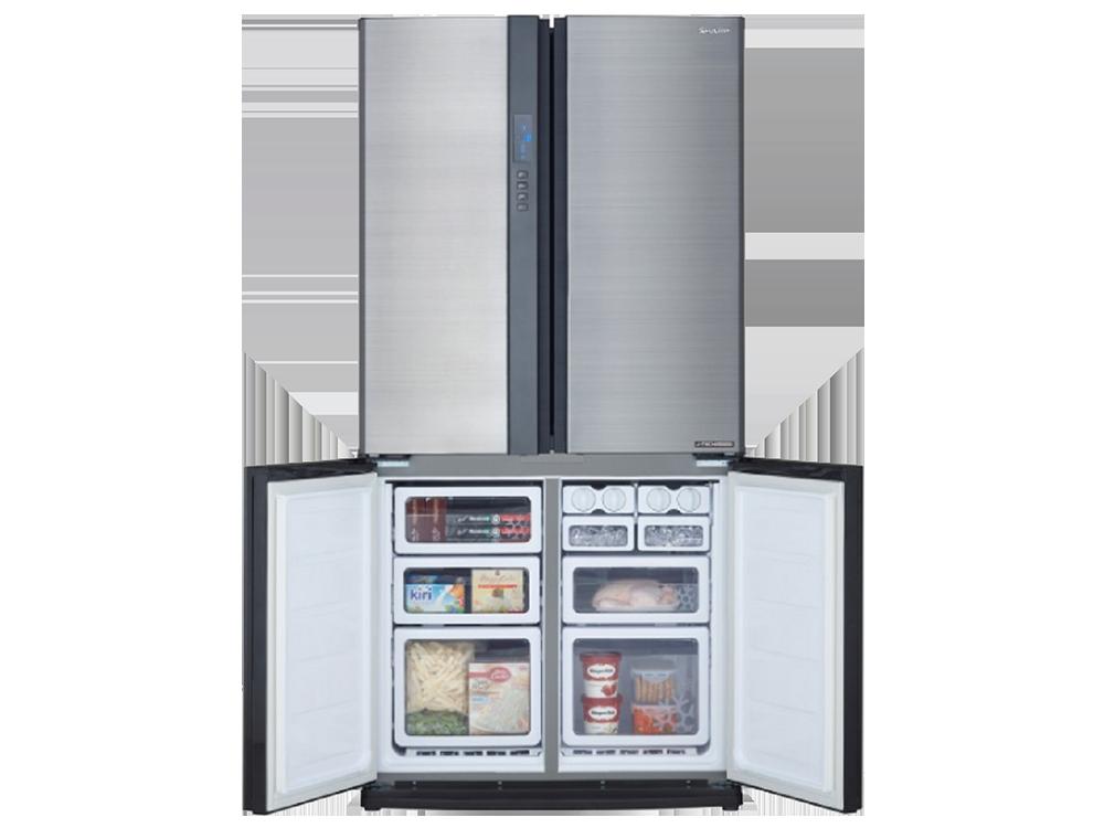 Sharp SJ-EX820F-SL A++ Gardırop Tipi No Frost Buzdolabı