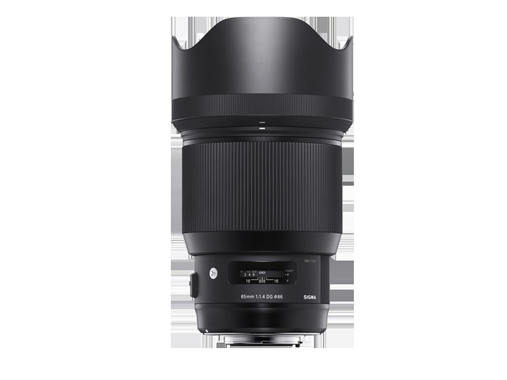 Sigma 85 mm F/1,4 DG HSM ART Serisi Objektif (Canon Uyumlu)