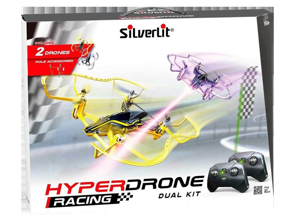 Silverlit HyperDrone Yarış Büyük Kit 2.4G - 4CH Gyro-Çift Drone