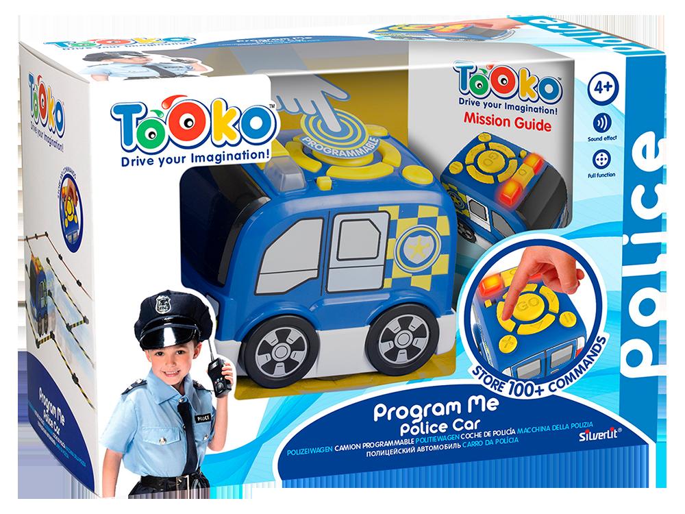Silverlit Tooko Programlanabilen Polis Aracı ve Oyun Seti