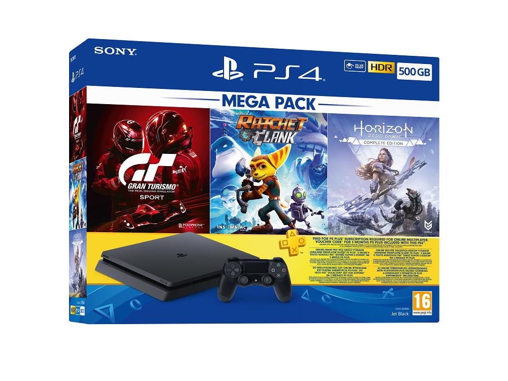 Playstation 4 500 Gb Mega Paket 2021
