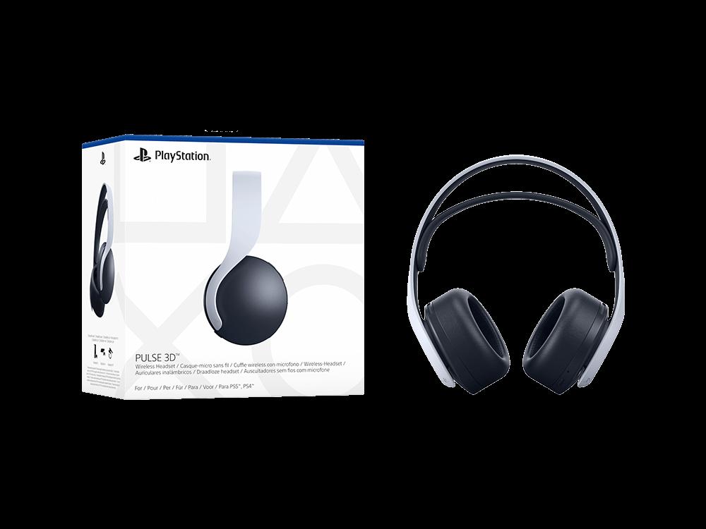 PlayStation 5 Pulse 3D Kablosuz Kulak Üstü Kulaklık