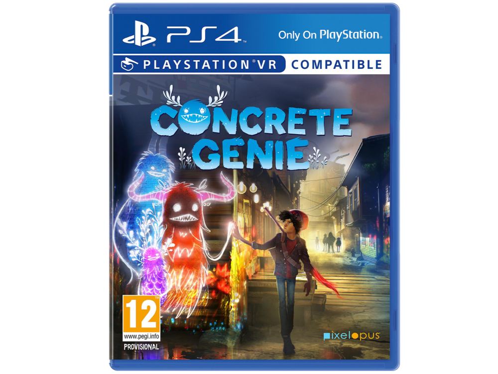 PS4 Concrete Genie