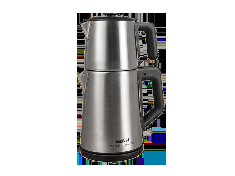 Tefal Magic Tea XL BJ561DTR 1650 W Çelik Çay Makinesi