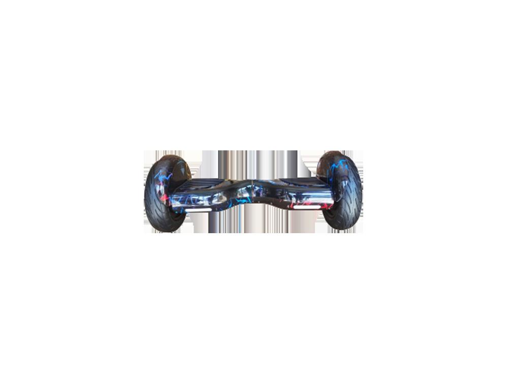 Zmos Smart Hoverboard 10 Inch Scooter Şişme Teker Akıllı Denge Desenli Elektrikli Kaykay