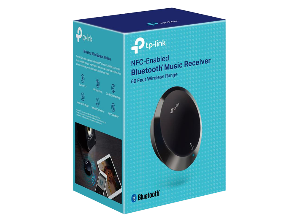 Tp-Link HA100 Bluetooth-NFC 4.1 Kablosuz Çevirici Audio Adaptör